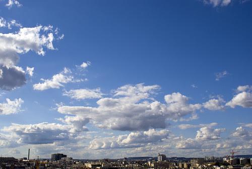 Paris, samedi 28 août. Ciel vers 5 heures du soir.