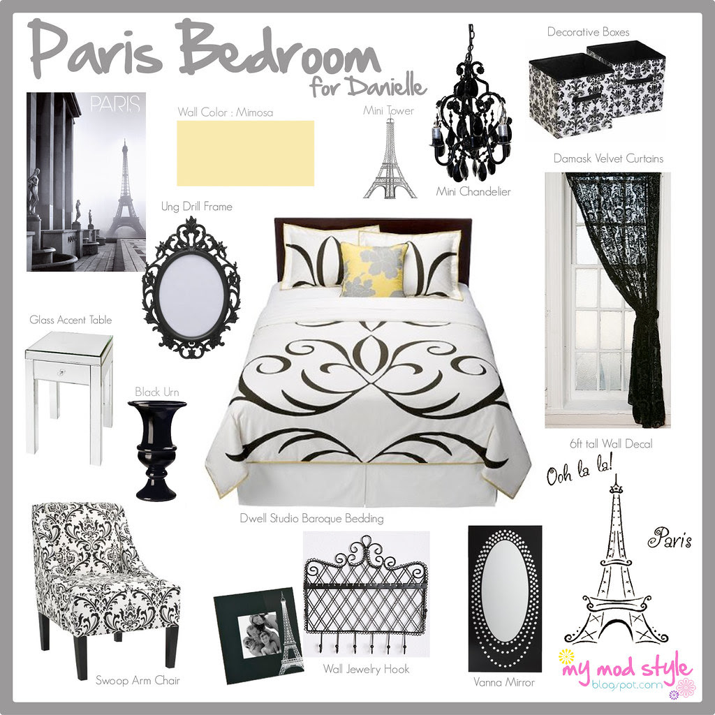 Design Board - Paris Theme