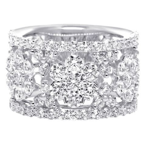 Thick Diamond Wedding Bands for Women   Diamond Wedding