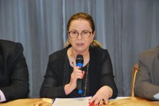 Procuradora-geral, Regina Rocha, realizou a abertura do evento