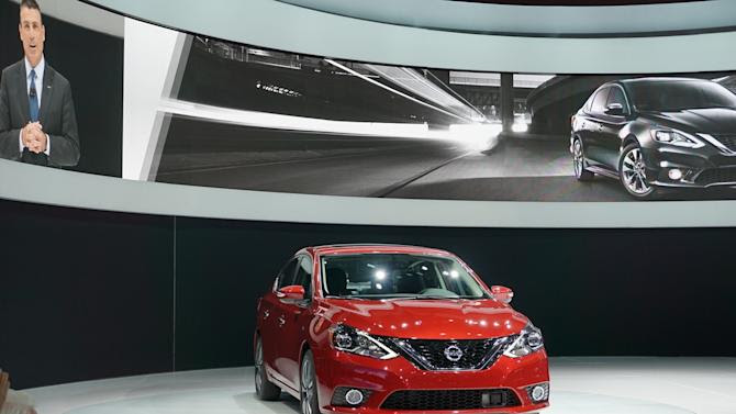 Nissan debuts the all-new 2016 Sentra at the LA Auto Show
