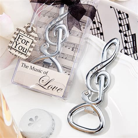 Musical Note Bottle Opener cheap music Favors