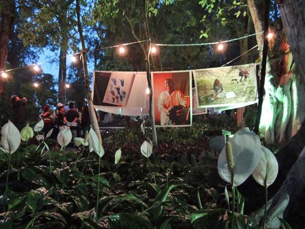 """Exposição """"Parteiras - um mundo pelas mãos"""" reúne fotos de Eduardo Queiroga (Foto: Luna Markman / G1)"""