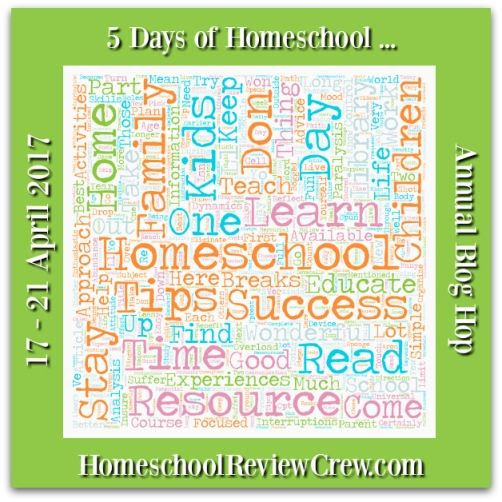 5 Days of Homeschool Annual Blog Hop - 2017