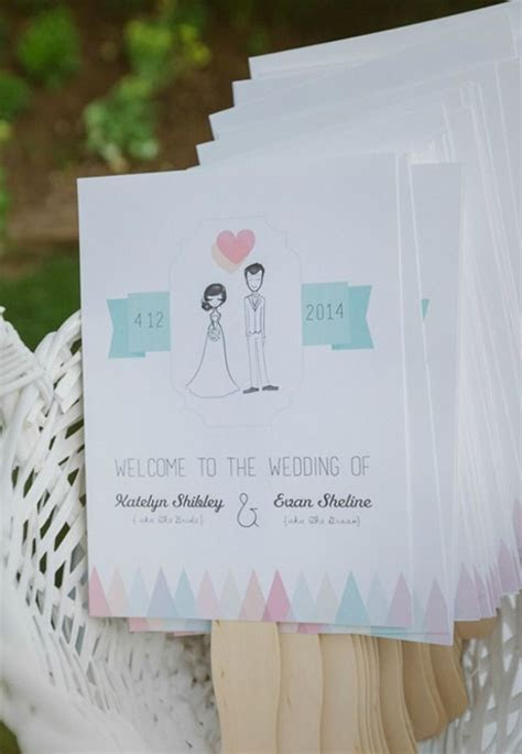 Looking for non traditional wedding programs? Designed