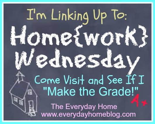 Homework Wednesday Linky Party at The Everyday Home