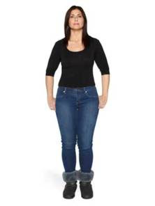 Jeans for pear-shaped women