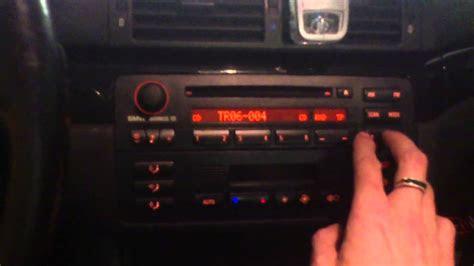 bmw  original business cd radio  mp support youtube