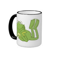 Kermit the Frog lying down Disney Coffee Mugs