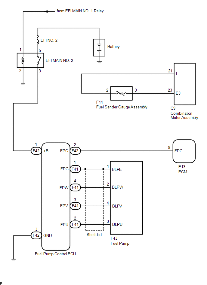 Toyota Tacoma 2015 2018 Service Manual System Diagram Fuel System 2gr Fks Fuel