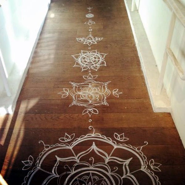Creative Wood Floor Paint Decoration Art Works (14)