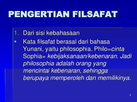 mata kuliah filsafat ilmu