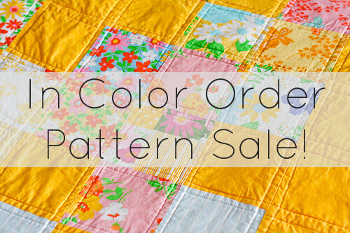 In Color Order Pattern Sale by jenib320