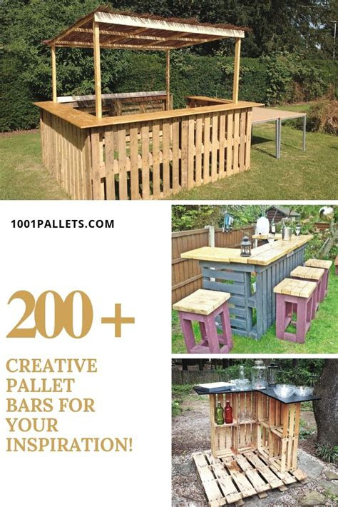 idea   pallets  pallet diy tutorials pallet bar