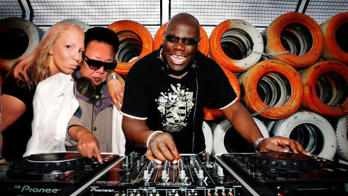 droppin' with carl cox & hot chick