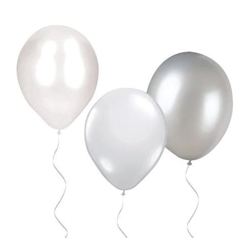 Party Camel   We Heart White Balloons 30Pk