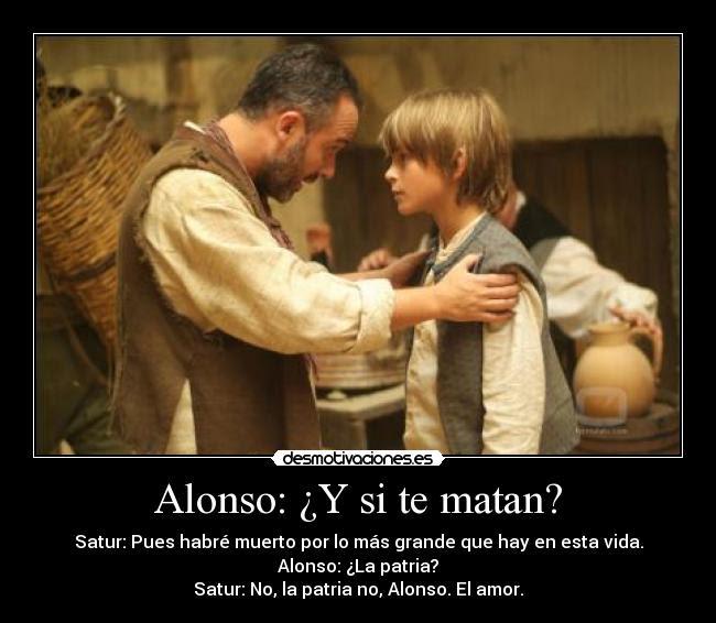 Alonso Y Si Te Matan Desmotivaciones