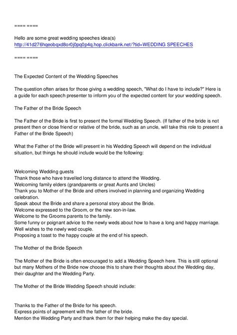 father   bride speech examples  examples