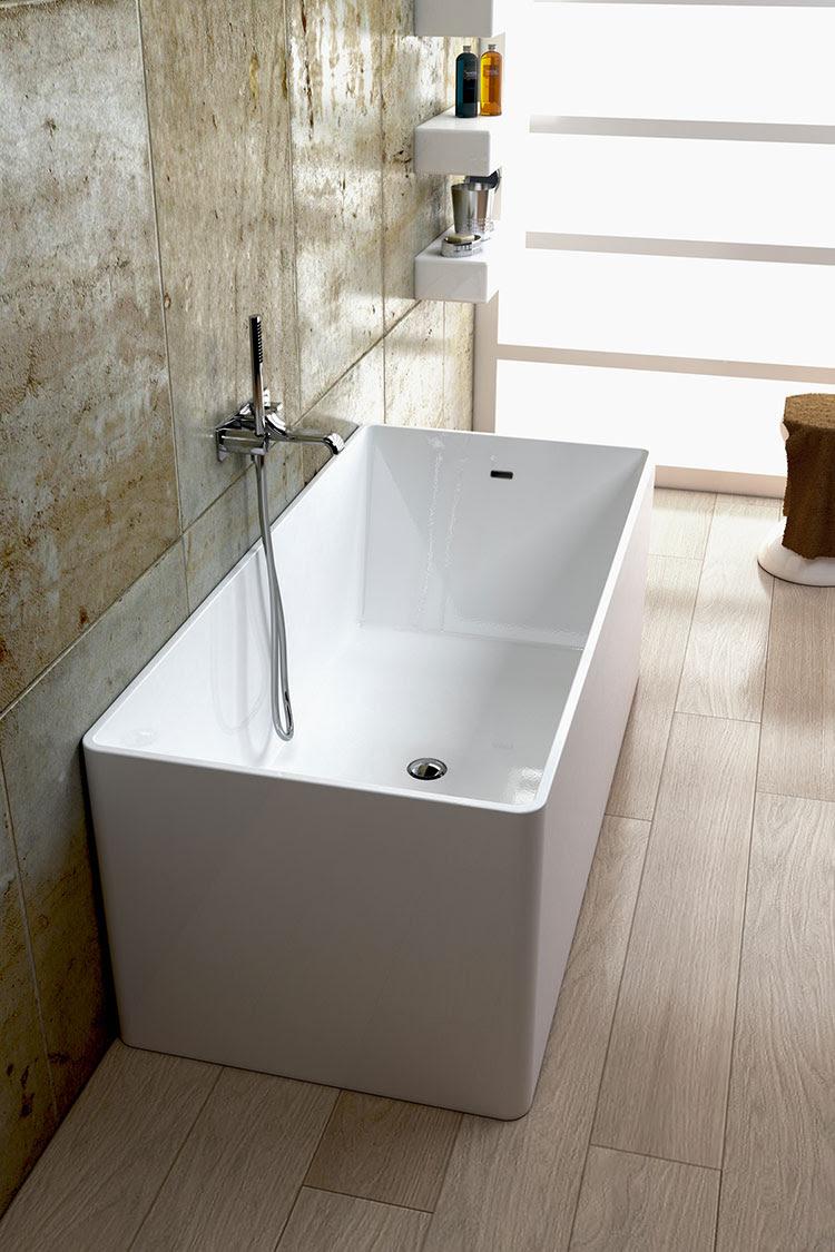 20 Vasche da Bagno Piccole e dal Design Moderno ...