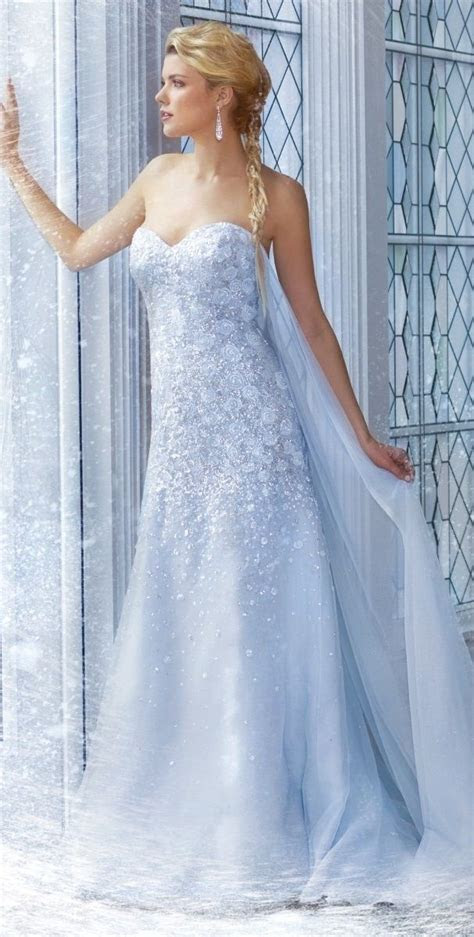 Elsa's wedding dress, from Alfred Angelo   *~ Fairytales