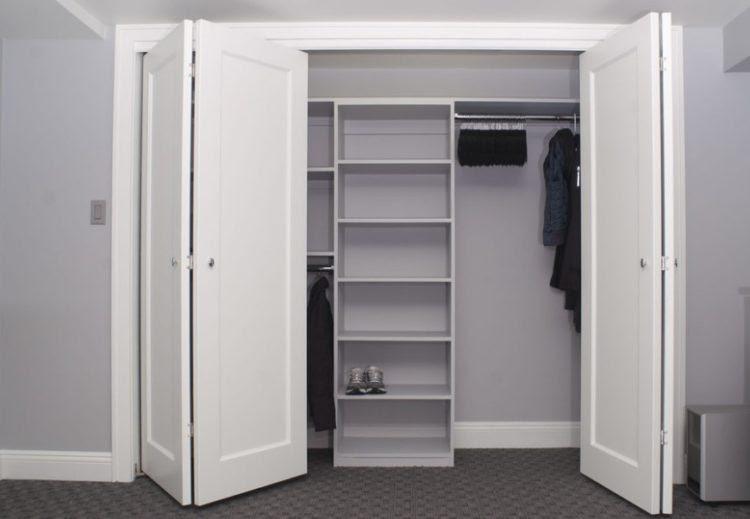 bi fold style closet door ideas memorabledecor com