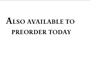 Preorder today