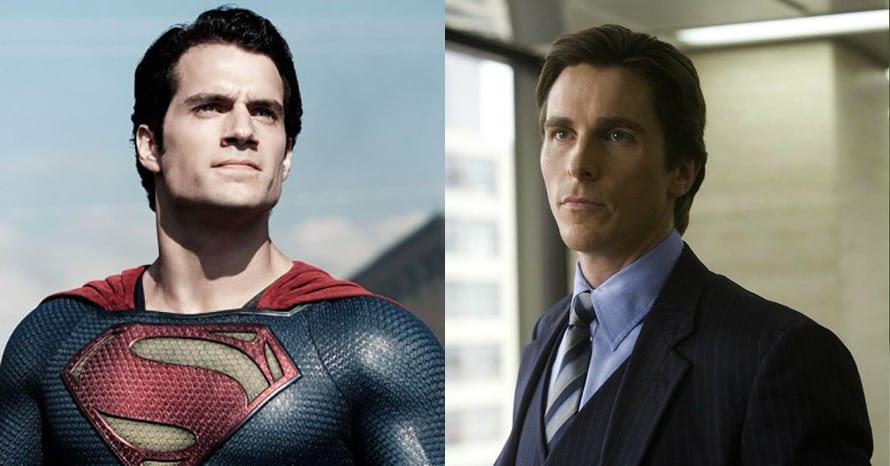 Superman Henry Cavill Christian Bale Batman