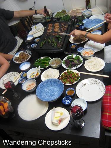 Bun Thit Nai Nuong Xa (Vietnamese Noodles with Grilled Lemongrass Venison) 4