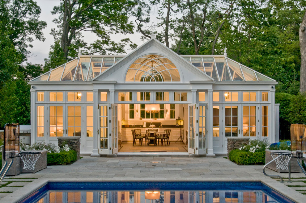 Pool House Conservatory with Kitchen