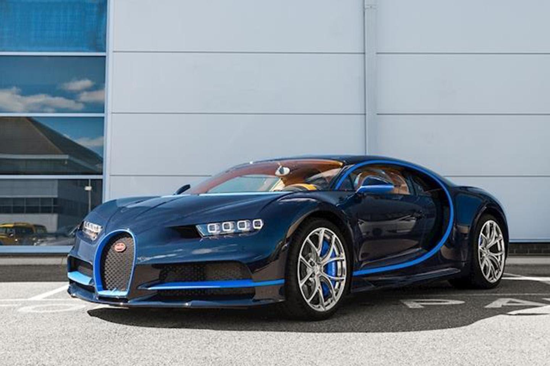 Slightly used Bugatti Chiron for sale