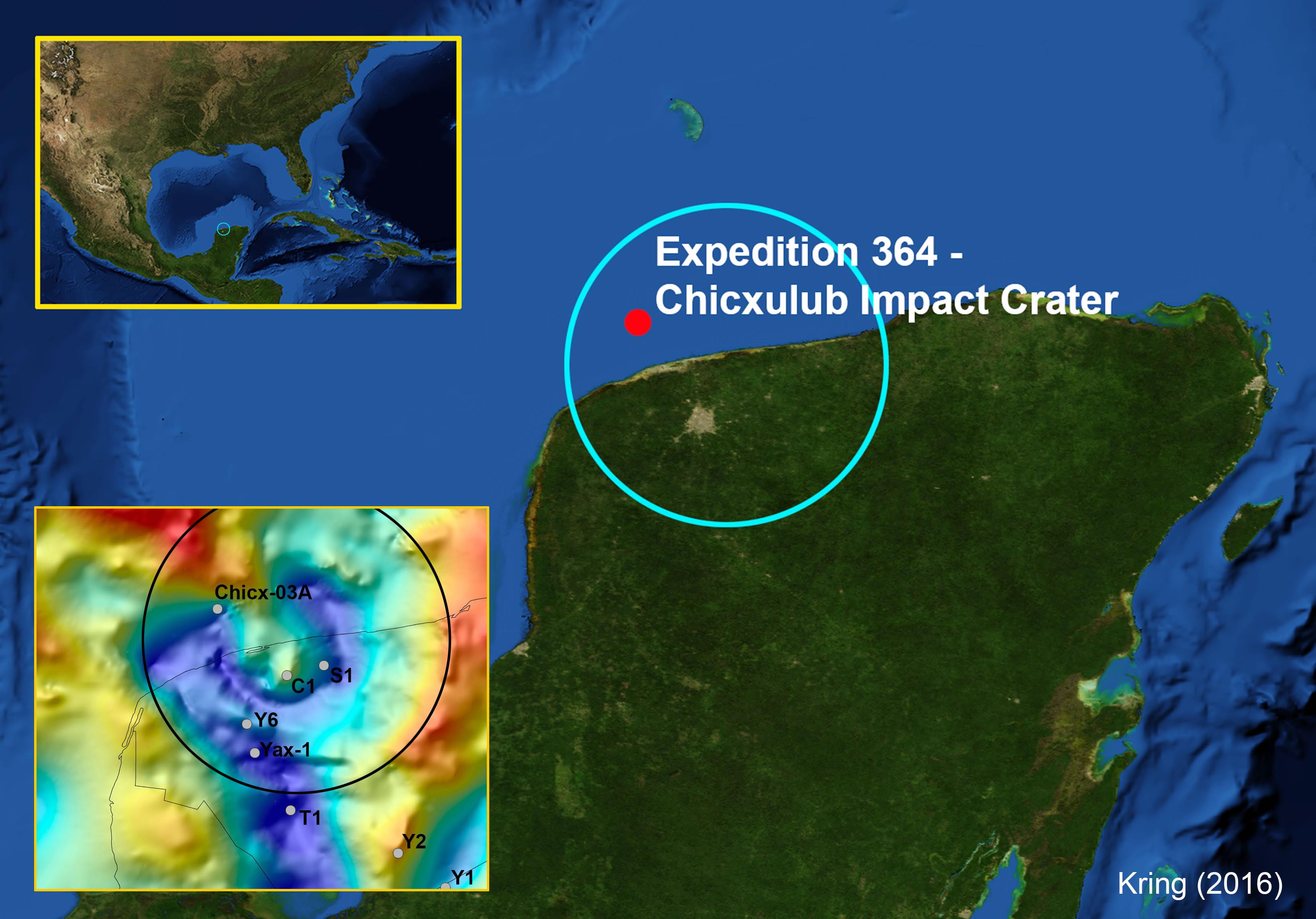 Resultado de imagen de Chicxulub