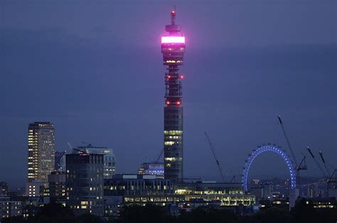Man 'with double vision' after BT Tower door hit him sues