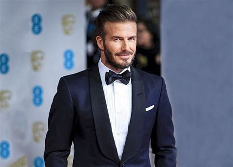 Beckham in a tux award ceremony   Fashion in 2019   Navy