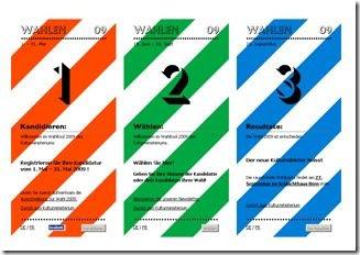 Kulturministerium - Die Wahlen 2009