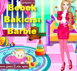 Bebek Bakıcısı Barbie Oyna