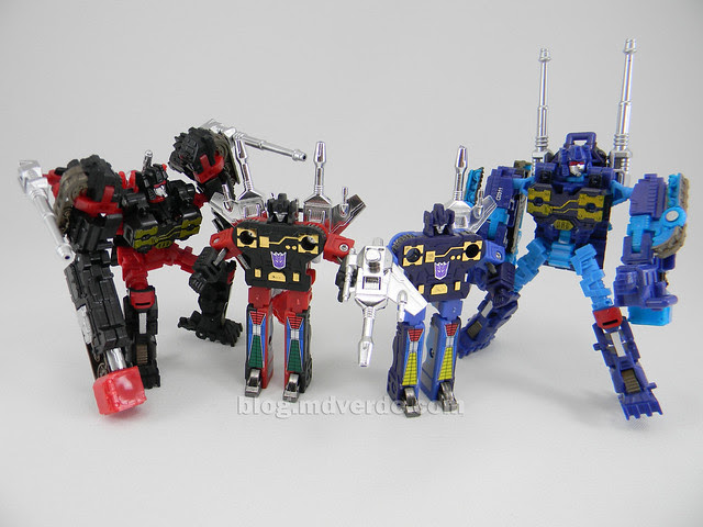 Transformers Frenzy & Rumble United Scout - modo robot vs G1