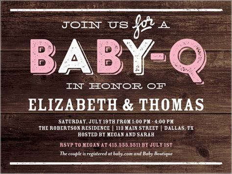 baby  party girl  baby shower invitations shutterfly