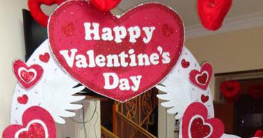 الديكورات المنزلية في عيد الحب