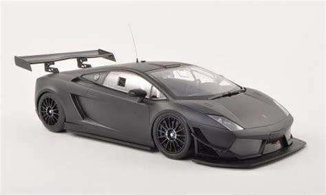Lamborghini Gallardo LP 600  GT3 matt schwarz Plain Body Version 2011 Minichamps modellauto 1/18