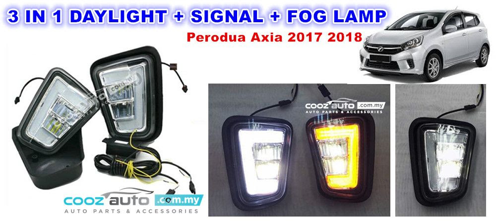 Perodua Axia Auto Lock - Noted G