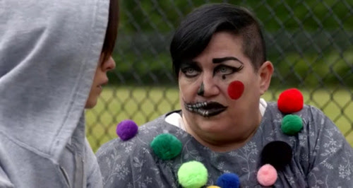Big Boo's makeup | Orange is the New Black | Tacky Harper's Cryptic Clues