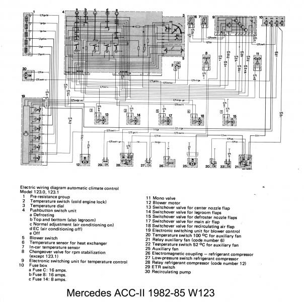 W123 Auto To Manual Climate Control Swap Wiring Help Peachparts Mercedes Benz Forum