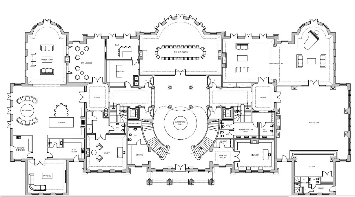 11 Mega Mansion House Plans That Will Make You Happier ...