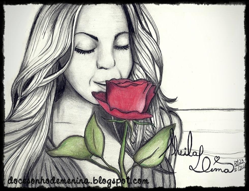 """Homenagem de """"Quinta"""" - Broken Hearted Girl, Beyoncé desenho"""