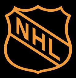 Original NHL logo, used before 2005. A version...