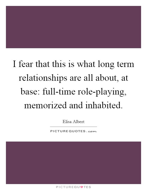 Fear In Relationships Quotes Sayings Fear In Relationships