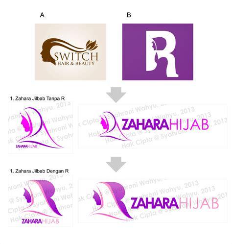 Contoh Desain Logo Hijab