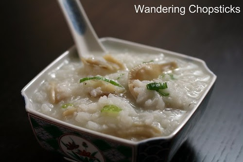 Chao Oc (Vietnamese Rice Porridge with Clams) 1