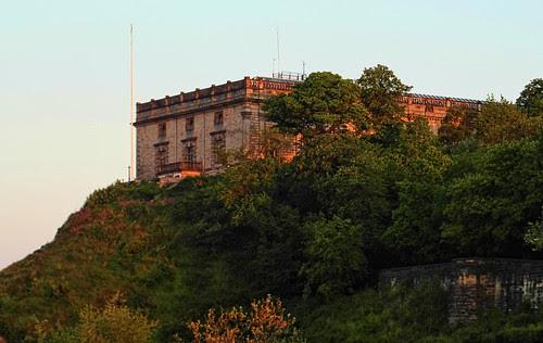 Nottingham Castle Early Morning