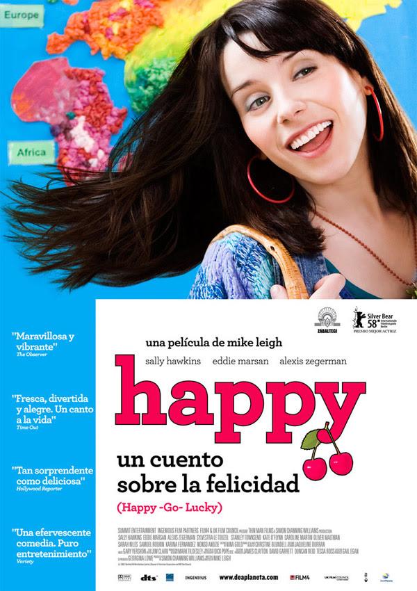 Happy: Un cuento sobre la felicidad (Mike Leigh, 2.008)